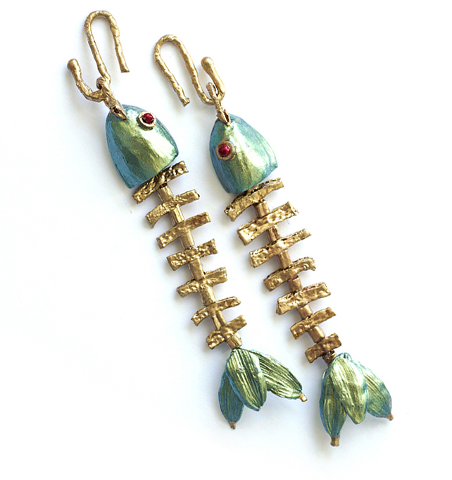 Go Fish Earrings